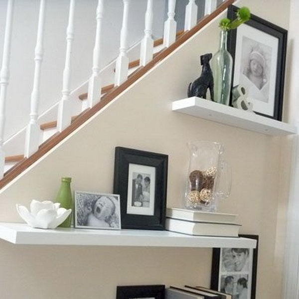 40 ways to decorate your staircase wall 2017 - Ways to decorate your walls ...