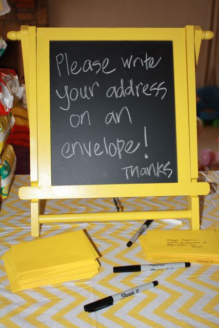 This Will Help Thank You Cards Go Out Much Faster.