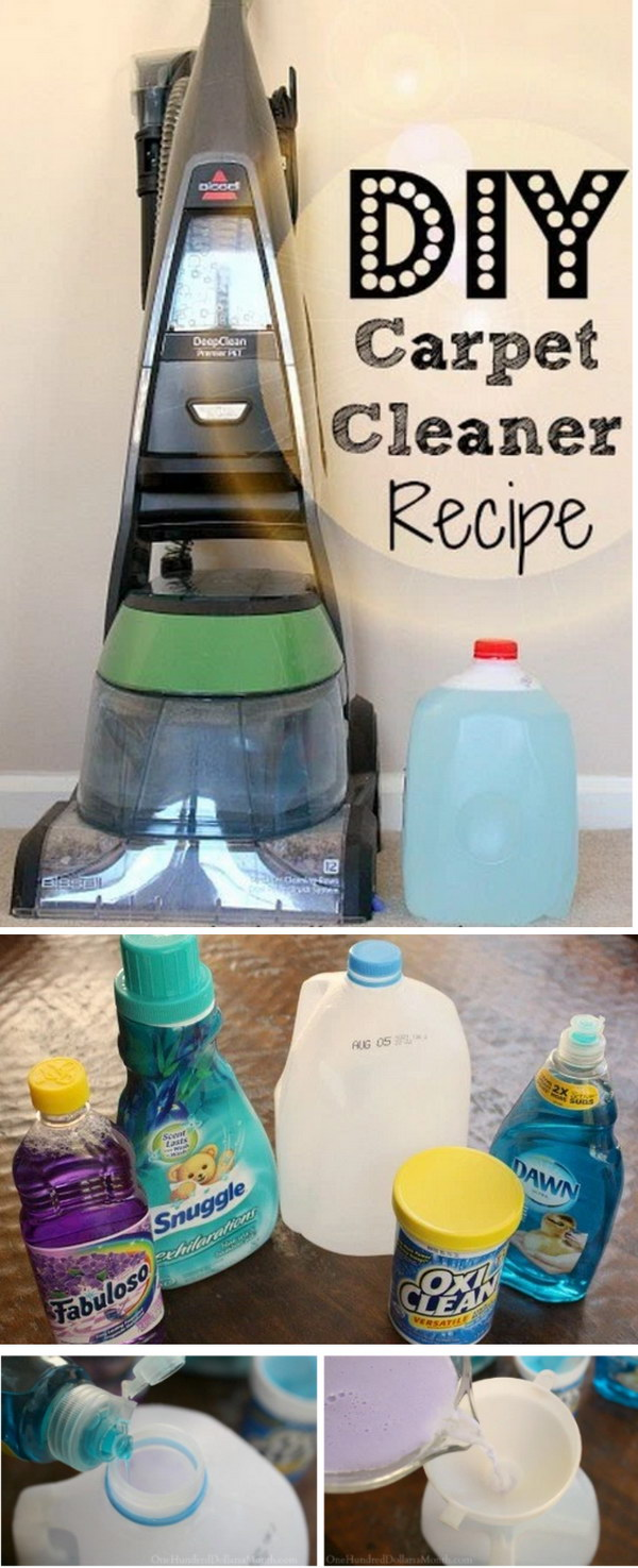 diy carpet cleaner. Tips For Steam Cleaning Carpets And DIY Carpet Cleaner Recipe Diy A