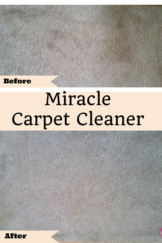 Miracle Carpet Cleaner.