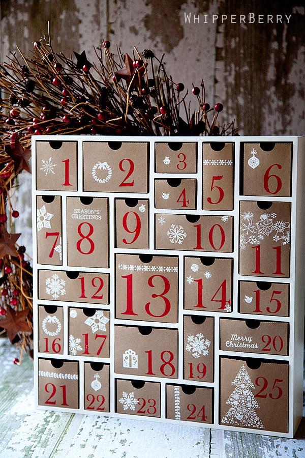Silhouette Cameo Advent Calendar.