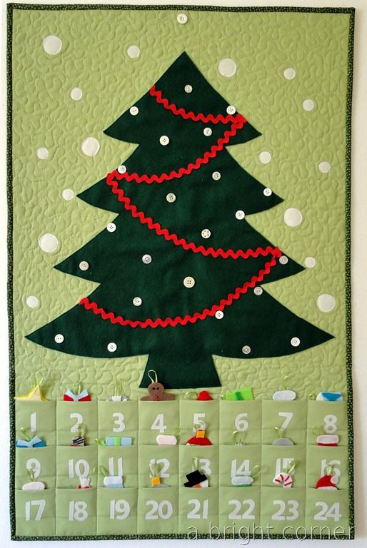 25 Diy Christmas Countdown Calendar Ideas And Tutorials 2018