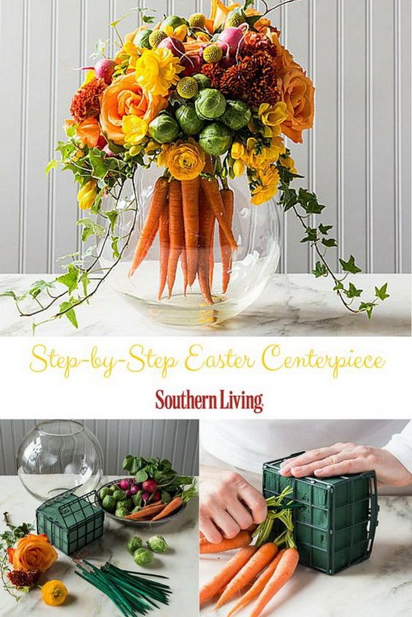 DIY Easter Table Centerpiece.