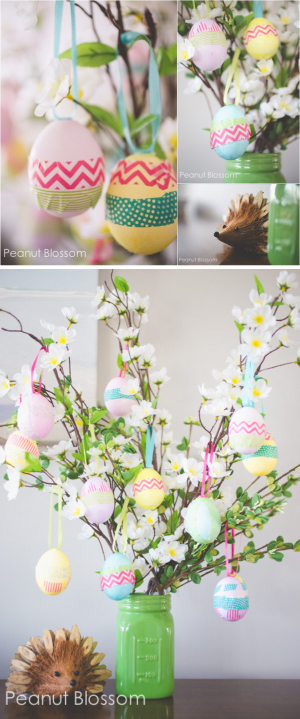 Adorable Easter Egg Tree.