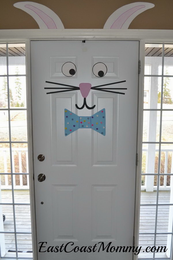 Easter Bunny Door Decoration.