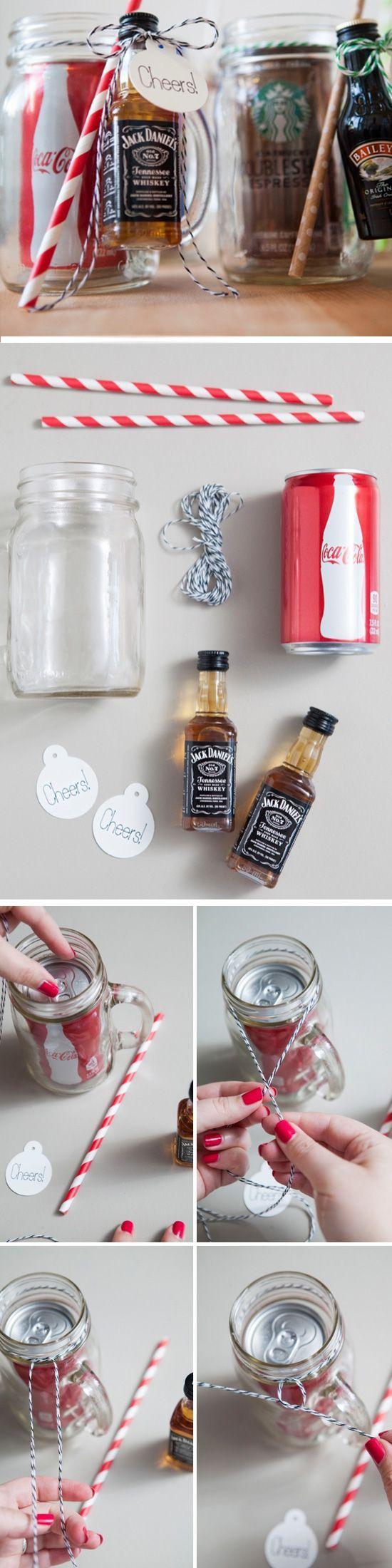 Mason Jar Cocktail.