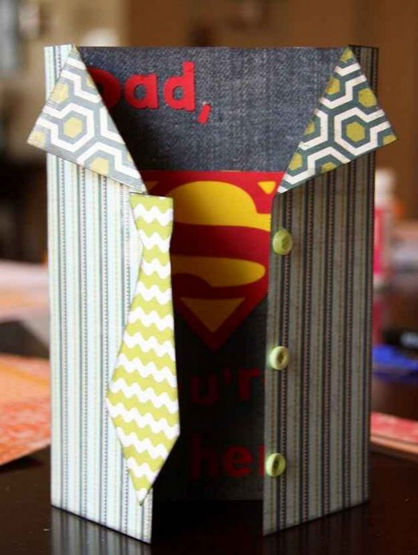 Superhero Card for Dad