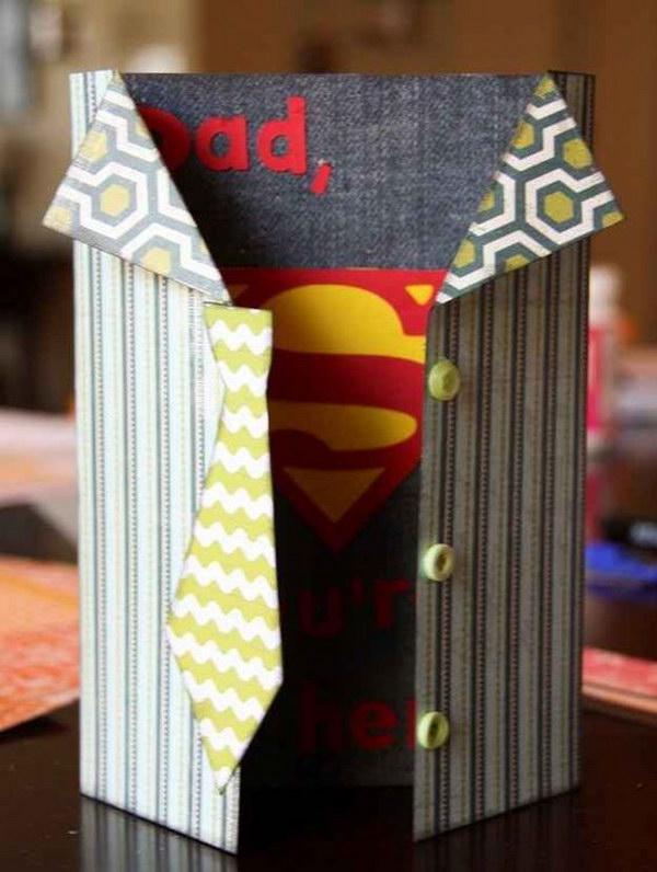 Superhero Card for Dad