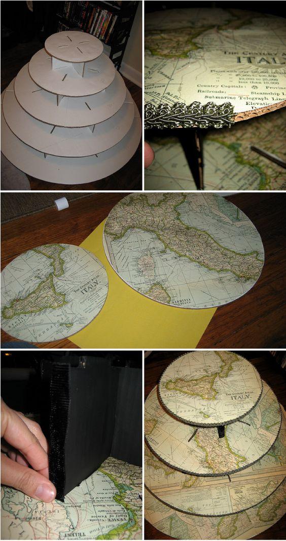 DIY Cupcake Tier.