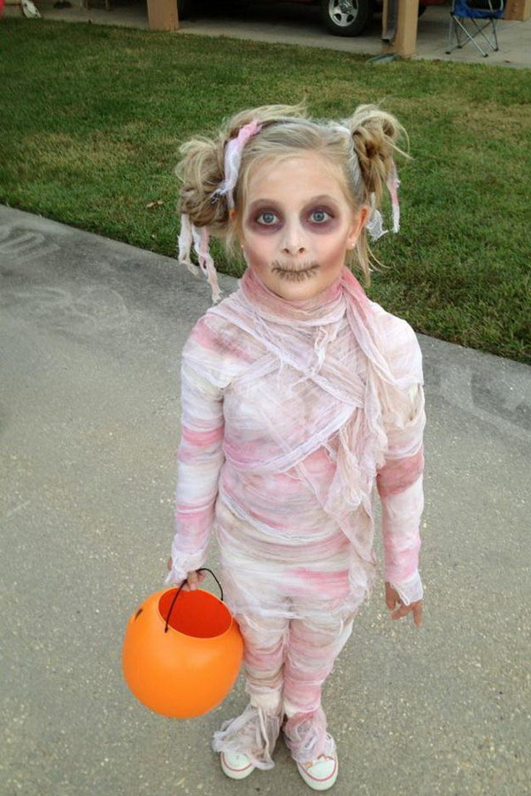 Mummy Costume for Little Girls
