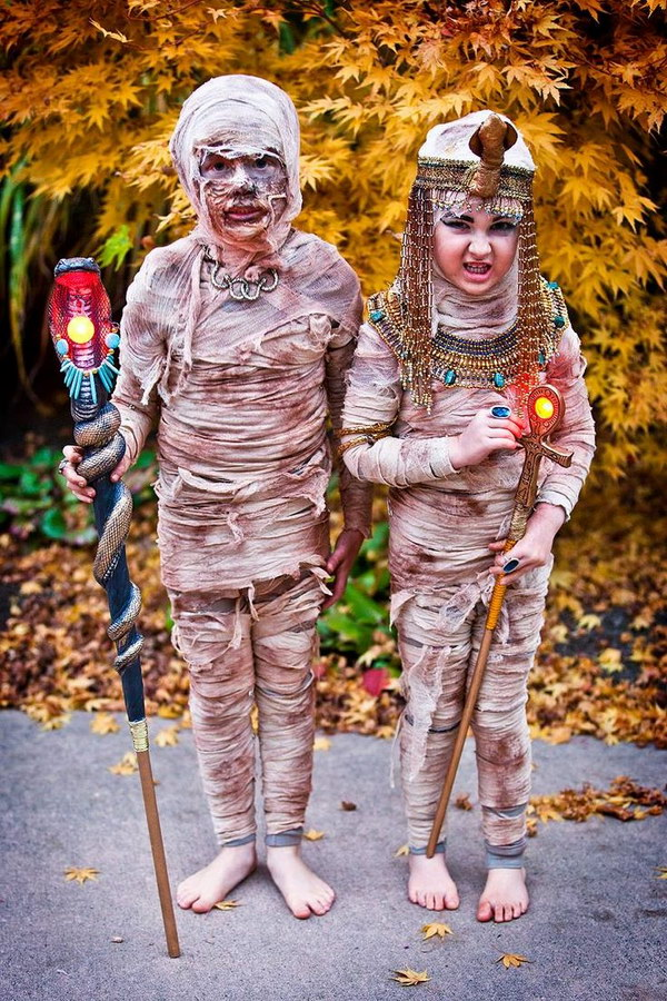 Creative DIY Mummy Costumes for Kids