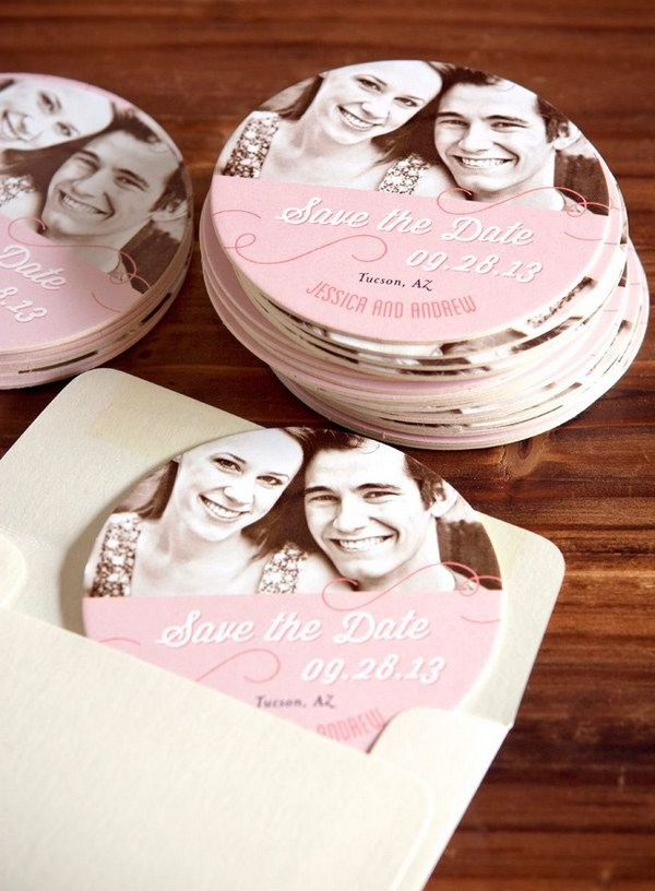 Wedding Coaster Save the Date
