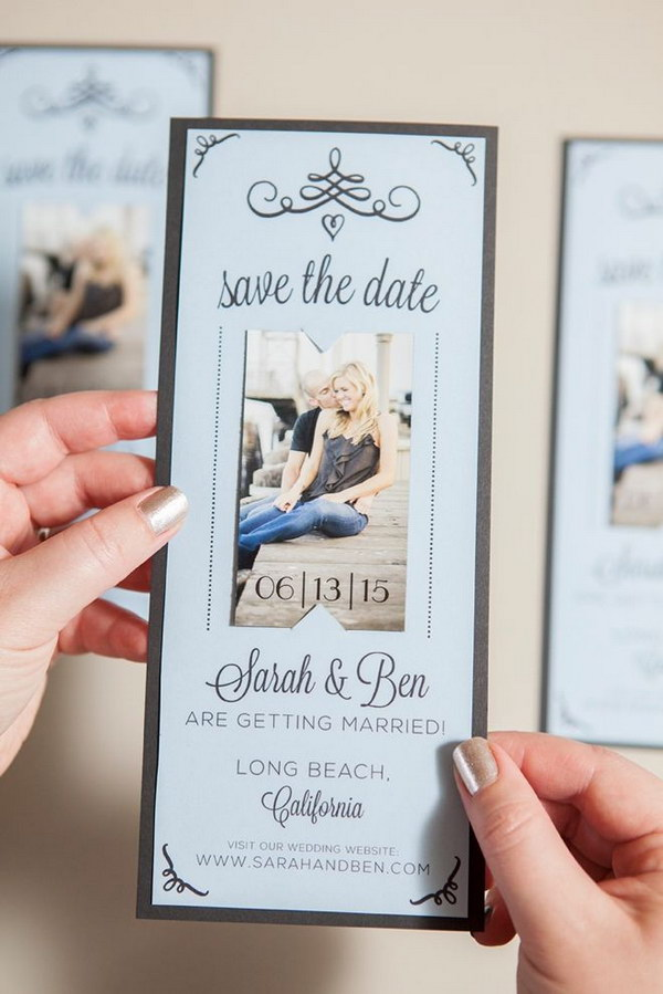 DIY Magnet Save the Date Invitations with Free Printables