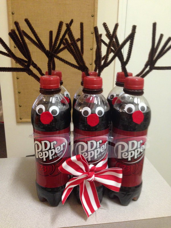 Secret Santa Gift - Dr. Pepper Reindeer.