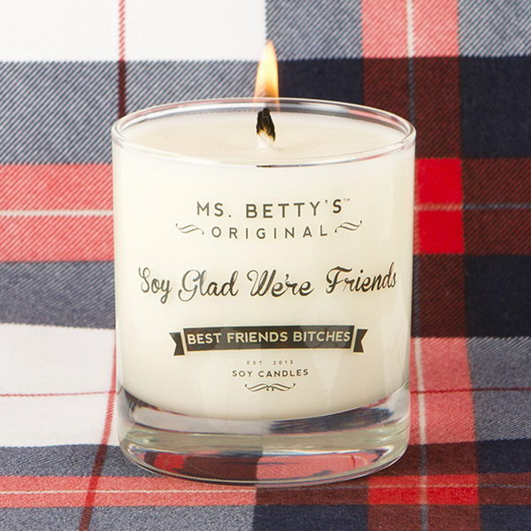 Soy Glad We're Friends Candle.