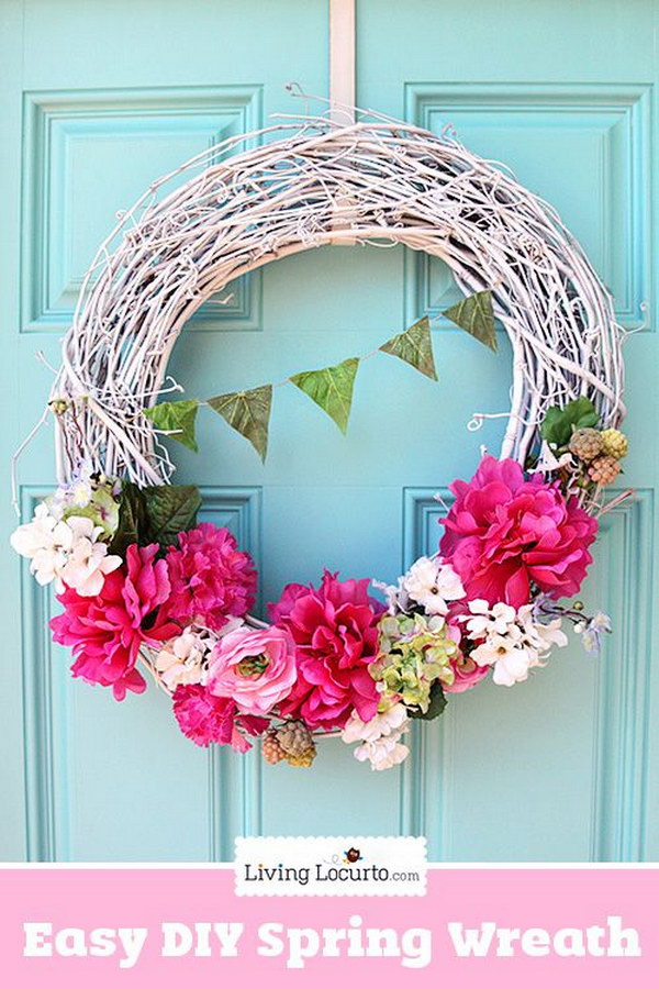Easy DIY Grapevine Wreath