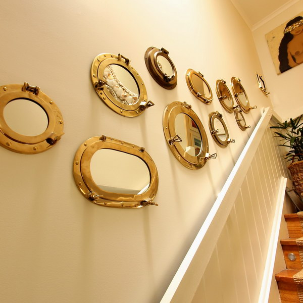 Brighten Up A Space With A Mirror Gallery Wall.