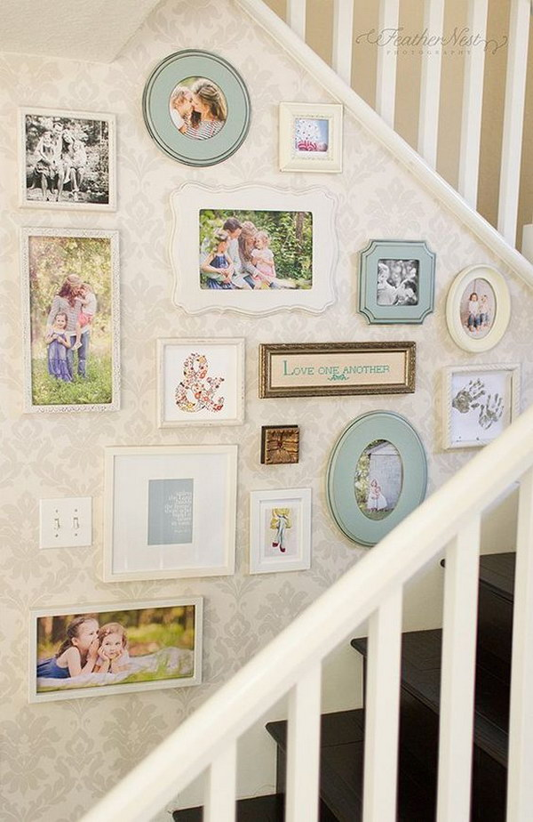 Use Your Favorite Photos, Quotes, Or Symbols To Create A Collage Wall.