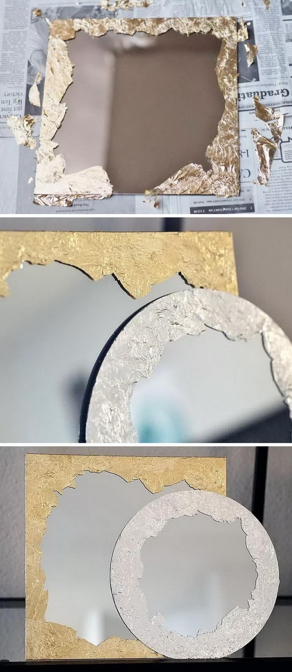 DIY Anthropologie Mirrors.