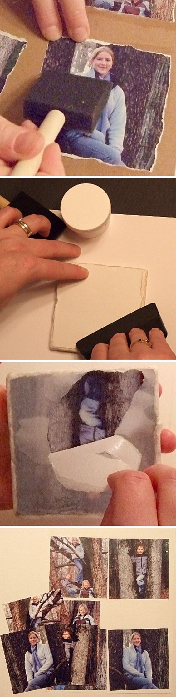 Transfer Your Photos onto Tile.