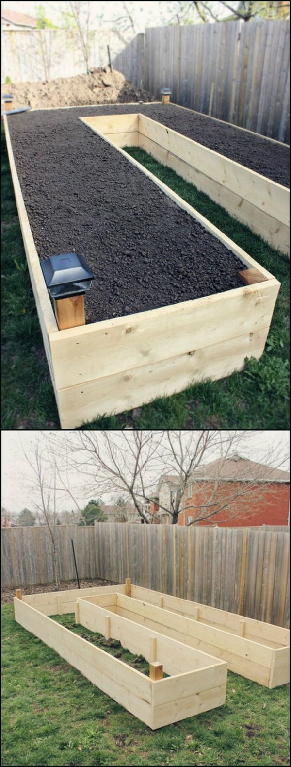 How to Make a U-Shaped Raised Garden Bed.