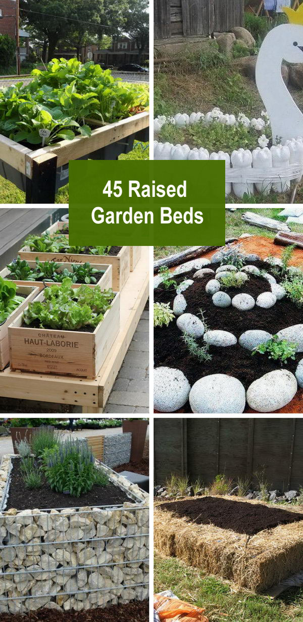 45 Raised Garden Beds.