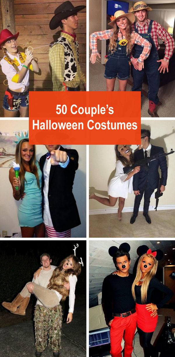 50+ Couple's Halloween Costumes.