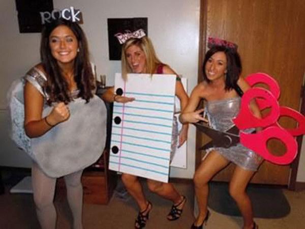 Rock Paper Scissors Costume.