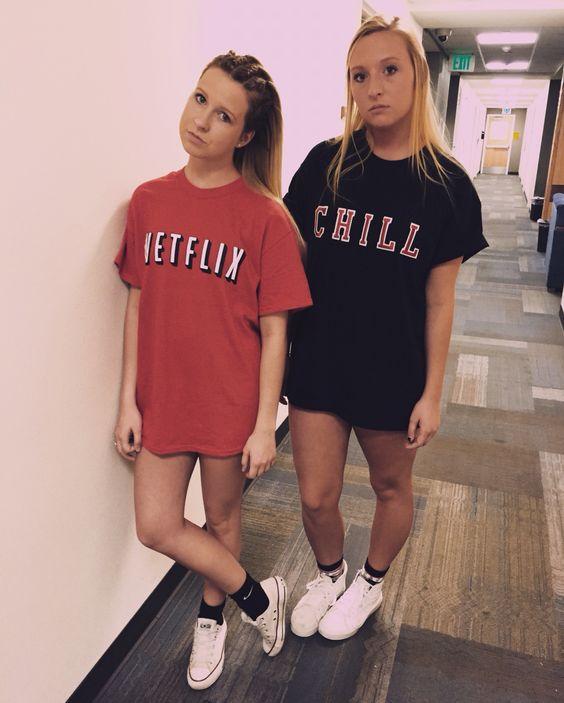 Netflix And Chill Costume.