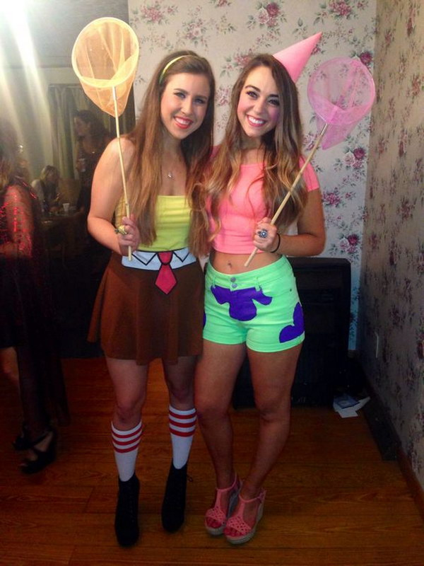 Spongebob And Patrick Costumes.