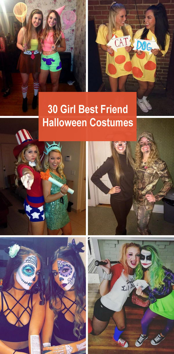 Halloween Friend Costumes.30 Girl Best Friend Halloween Costumes 2018