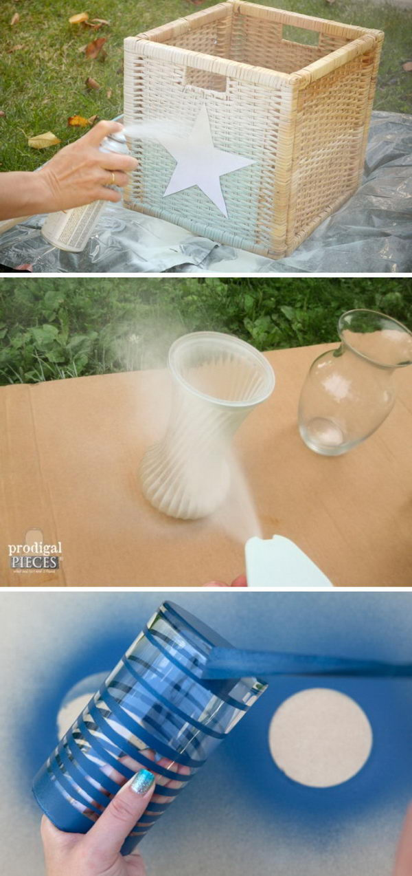 Amazing Makeovers Using Spray Paint.
