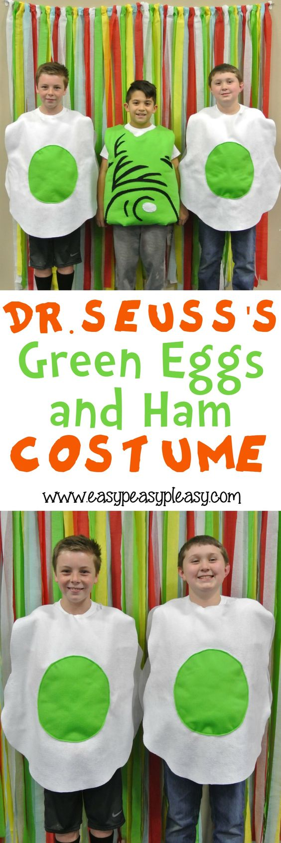 Dr. Seuss Green Eggs And Ham Costume.