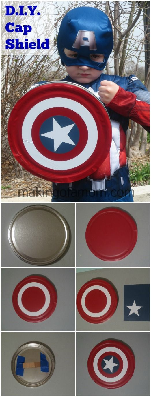 Captain America Costume.