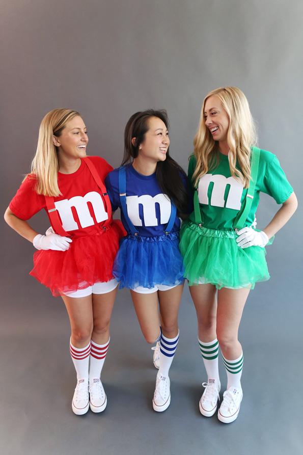 M&M Costume.