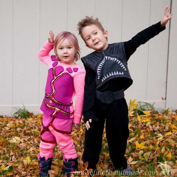 Sharkboy And Lavagirl Costumes.