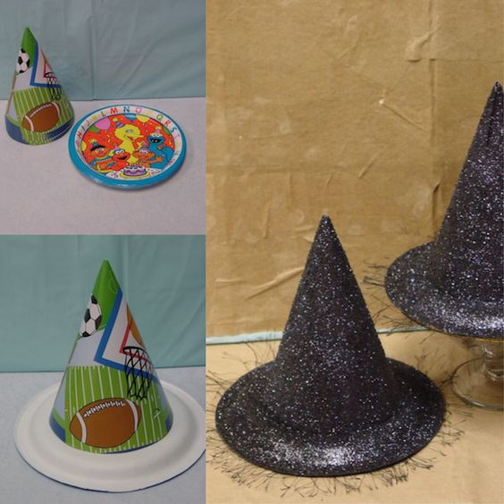 Glitterey Witch Hat.