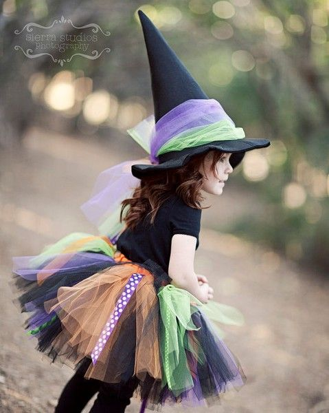 Toddler Witch Costume.