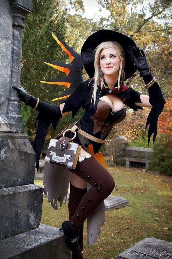 Mercy Witch Costume.