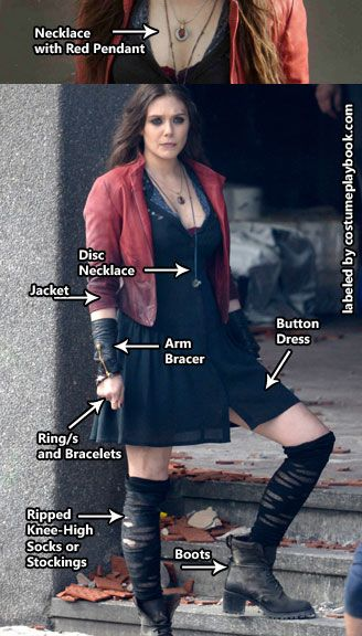 20 diy witch costume ideas 2017 scarlet witch costume solutioingenieria Choice Image