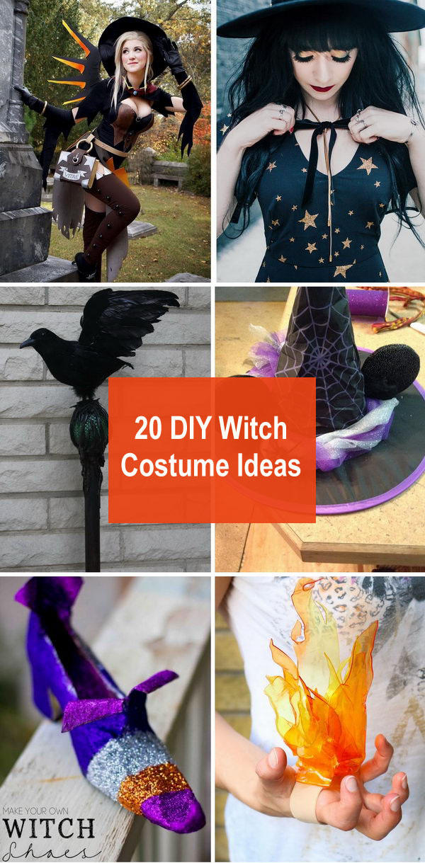 20 DIY Witch Costume Ideas.