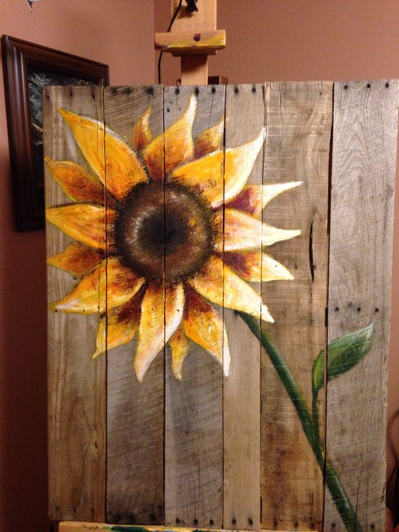 Reclaimed Wood Pallet Summery Sign.