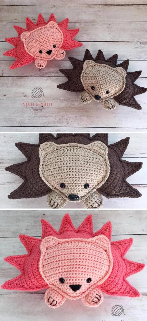 Ragdoll Hedgehog Amigurumi.