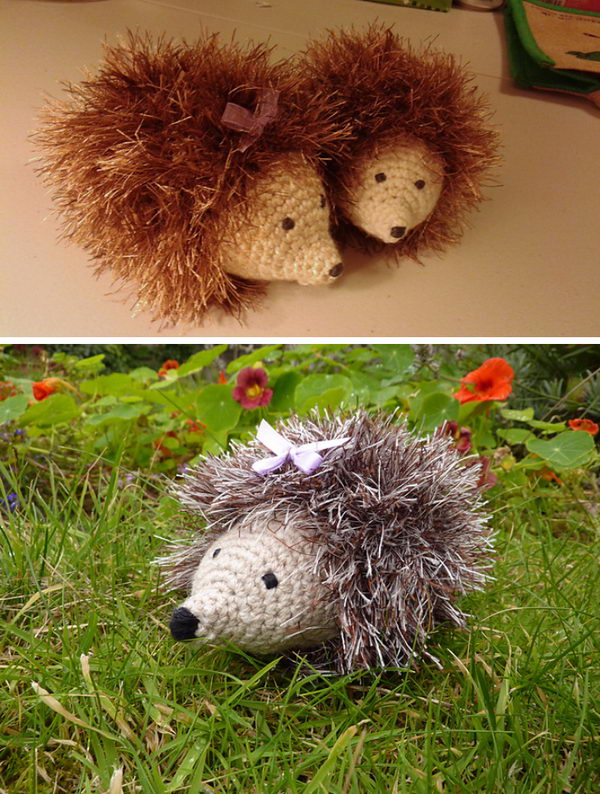 Heidi Hedgehog.