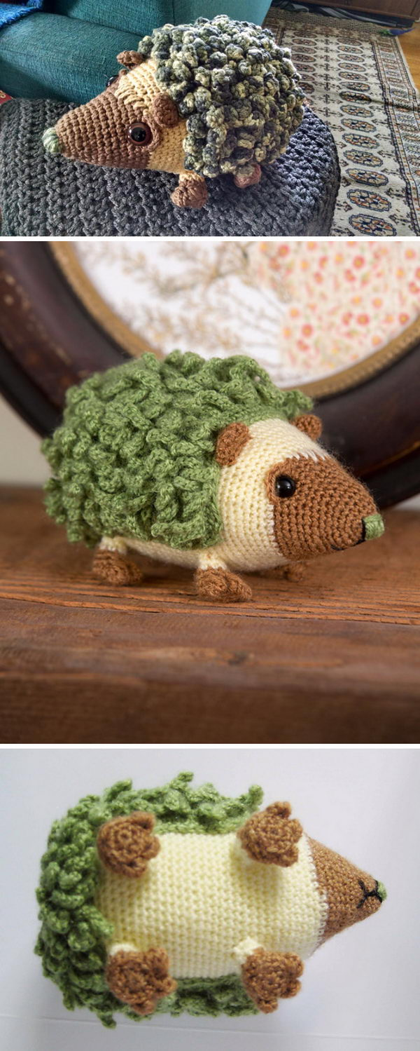 Harold The Hedgehog Crochet Pattern.