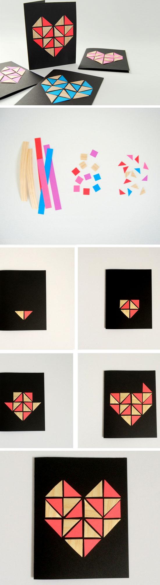 Geometric Hearts.