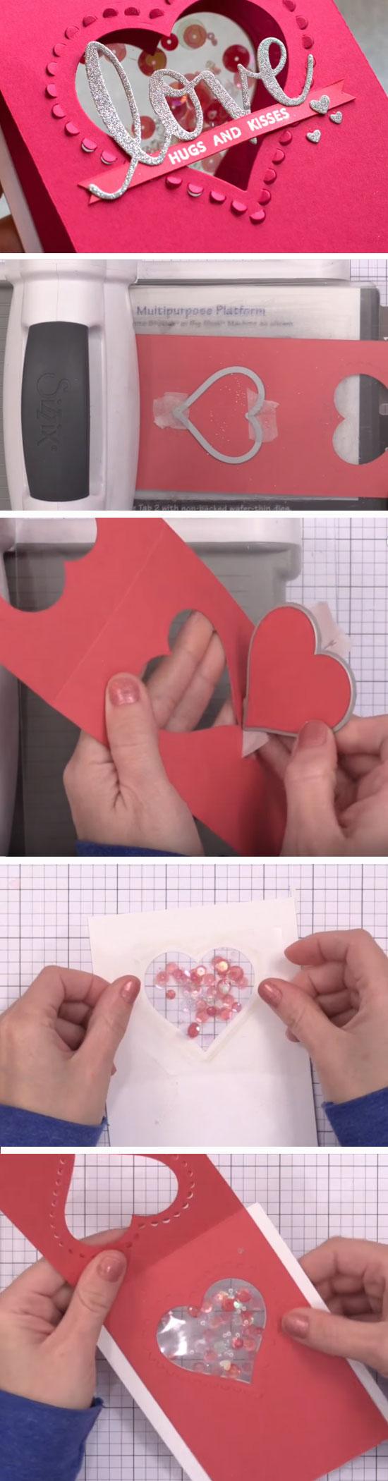 Confetti Heart Shaker.