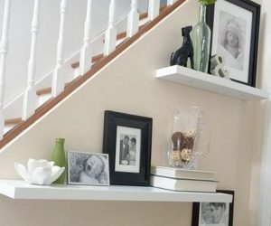40 Ways To Decorate Your Staircase Wall